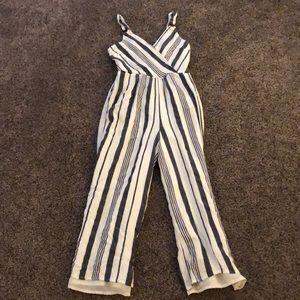 American Eagle linen jump suit